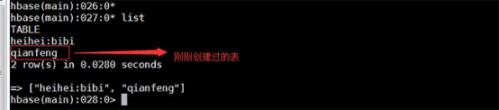 千鋒北京校區分享-Hbase shell的基本操作完整流程531