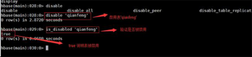千锋北京校区分享-Hbase shell的基本操作完整流程657