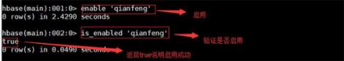 千锋北京校区分享-Hbase shell的基本操作完整流程780