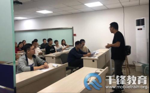 华庆创业通讯亲临千锋西安校区上门招聘精英人才
