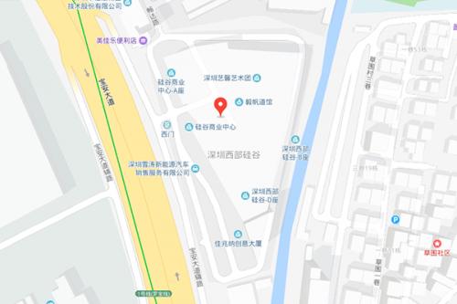 深圳校区地理位置图