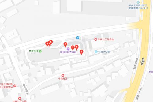 杭州校区地理位置图