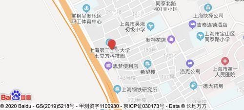上海校区地图