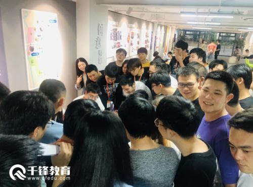 千锋IT培训上海校区招聘会现场3