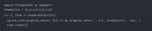 Python培訓進度條5